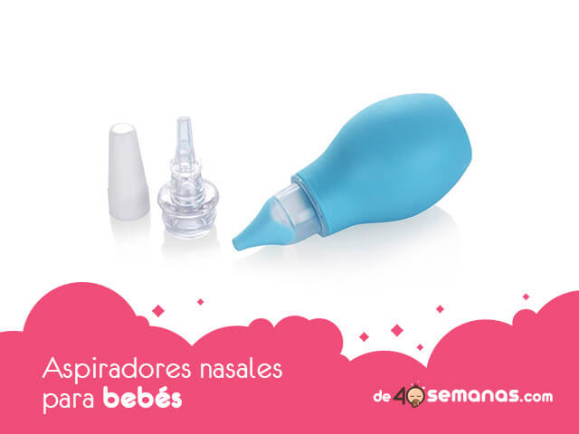 Aspiradores nasales para bebés