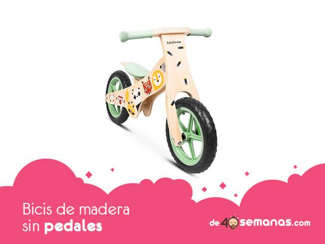 Bicis de madera sin pedales