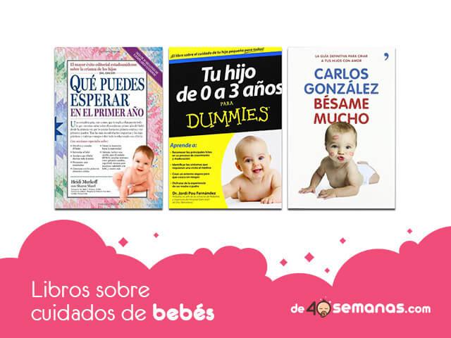 Libros sobre cuidados de bebés