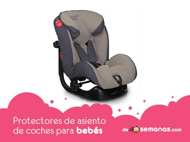 Protectores de asiento de coches para sillas de bebes