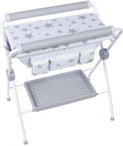 Bañera flexible para bebé Plastimyr Estrellas