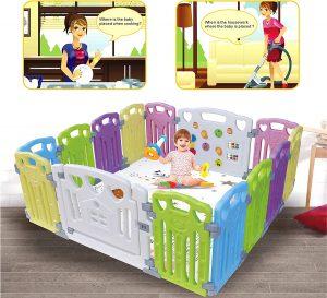 Baby Playpen-Centro de actividades para niños