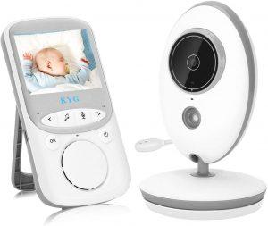 KYG Intercomunicador para bebés con Cámara de LCD 2.4