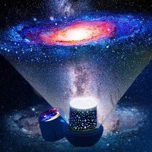 Lámpara Proyector Estrellas Bebé de Silvotek