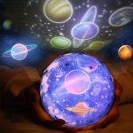 Luz de Nocturna-Proyector Estrellas Bebé