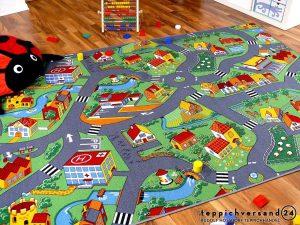 Snapstyle Alfombra Carretera Infantil de Juegos