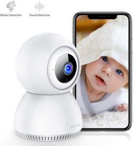Victure 1080P Intercomunicador para bebés