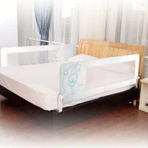 Barrera de cama nido para bebé