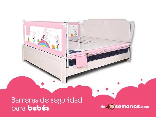 Barreras cama bebé