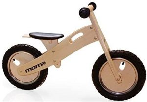 Bici de madera sin pedales Moma Bikes Woody Classic
