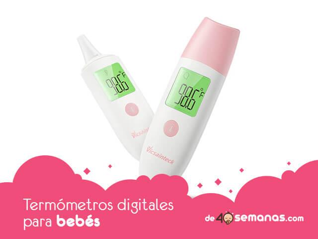 Termómetros digitales para bebés