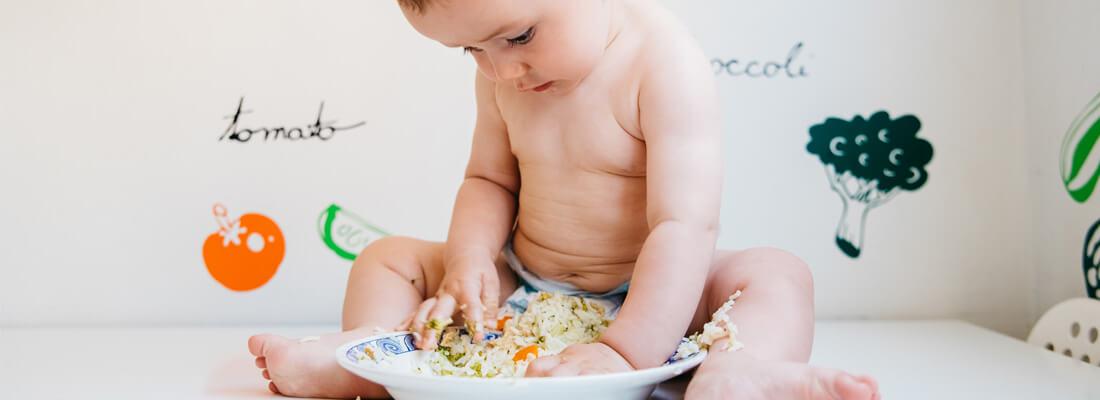 El Baby-Led Weaning, el nuevo método de alimentación complementaria guiado por tu bebé